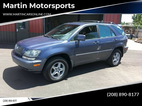 2000 Lexus RX 300 for sale at Martin Motorsports in Star ID