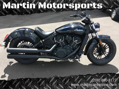 2018 Indian SCOUT SIXTY for sale at Martin Motorsports in Star ID