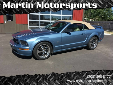 2006 Ford Mustang for sale at Martin Motorsports in Star ID