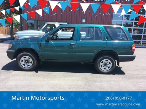 1997 Nissan Pathfinder for sale at Martin Motorsports in Star ID