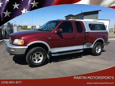 1998 Ford F-150 for sale at Martin Motorsports in Star ID
