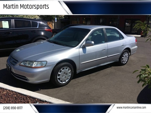 2002 Honda Accord for sale in Star, ID