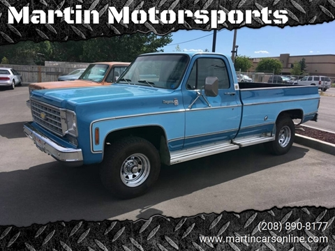 1976 Chevrolet C/K 10 Series for sale in Star, ID