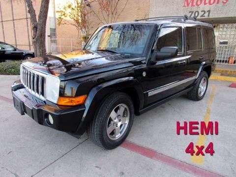 2010 Jeep Commander for sale in Dallas, TX