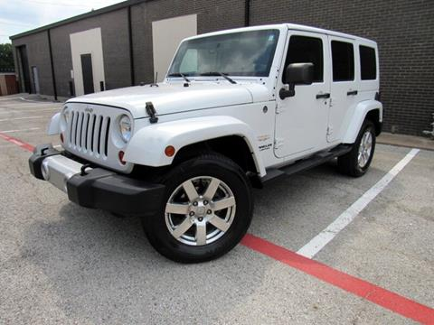 2013 Jeep Wrangler Unlimited for sale in Dallas, TX