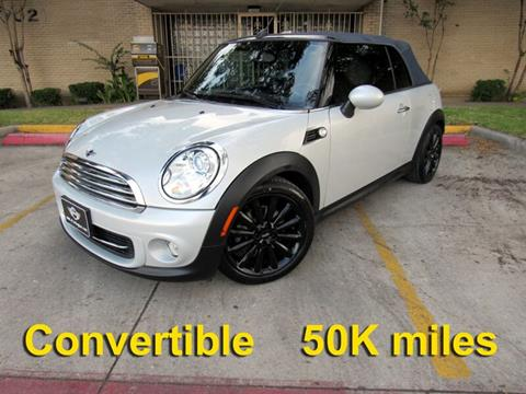 2012 MINI Cooper Convertible for sale in Dallas, TX