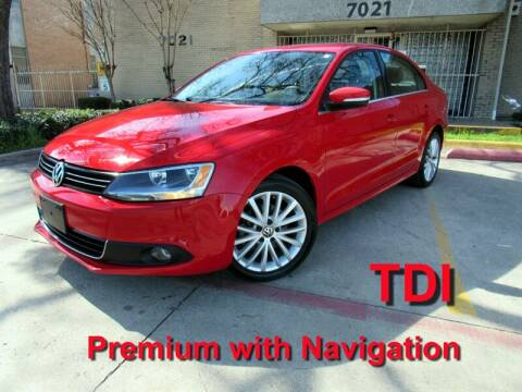2013 Volkswagen Jetta for sale at ERIDE MOTOR CARS in Dallas TX