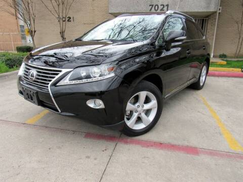 2013 Lexus RX 350 for sale at ERIDE MOTOR CARS in Dallas TX