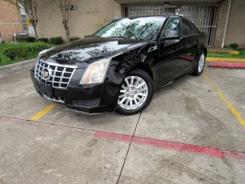 2013 Cadillac CTS 3.0L Luxury for sale at ERIDE MOTOR CARS in Dallas TX