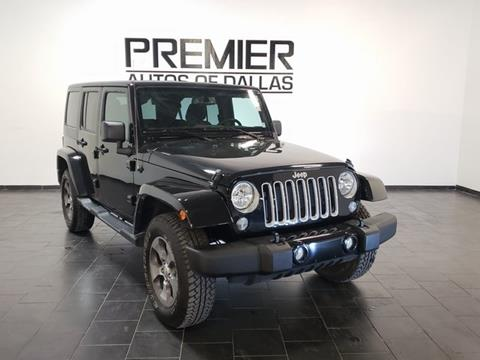 2018 Jeep Wrangler Unlimited for sale in Addison, TX
