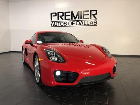 2015 Porsche Cayman for sale in Addison, TX