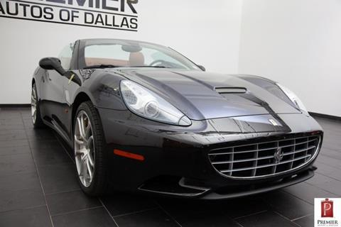 2013 Ferrari California for sale in Addison, TX