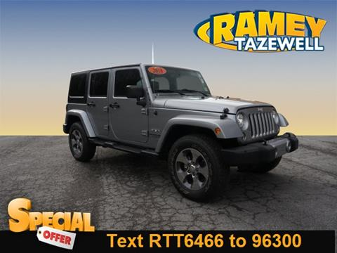 2018 Jeep Wrangler Unlimited for sale in North Tazewell, VA