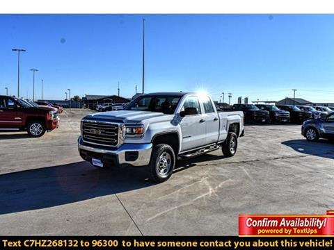 2017 GMC Sierra 2500HD for sale in Levelland, TX