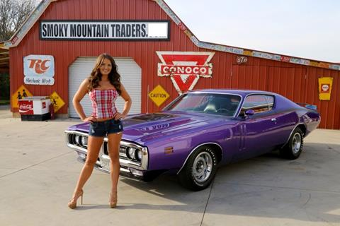 1971 Dodge CHARGER license plate tag 71  RT SE 383 340  mopar Muscle Car