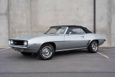 1969 Chevrolet Camaro for sale at Enswell Speed & Fab in Farmington UT