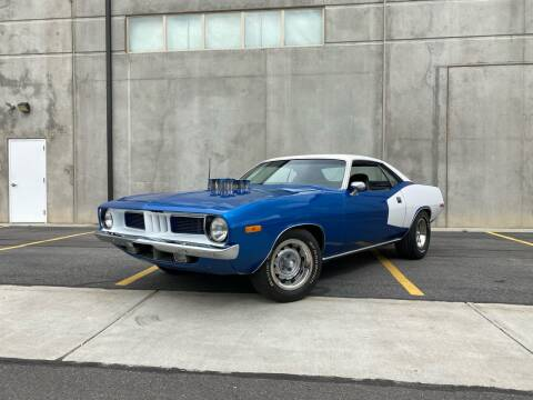 1973 Plymouth Barracuda for sale at Enswell Speed & Fab in Farmington UT
