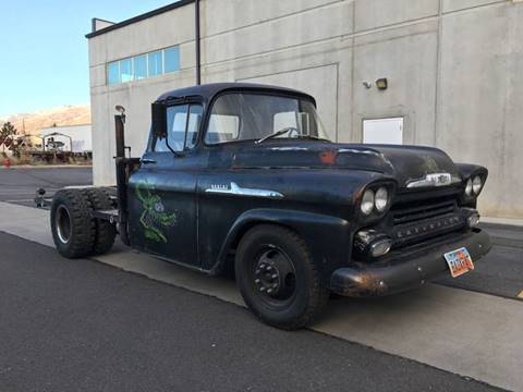 1958 Chevrolet Apache for sale at Enswell Speed & Fab in Farmington UT