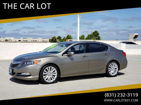 2015 Acura RLX for sale in Salinas, CA