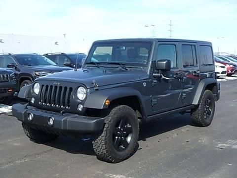 2017 Jeep Wrangler Unlimited for sale in Saginaw, MI