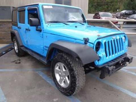 2017 Jeep Wrangler Unlimited for sale in Mount Pleasant, PA