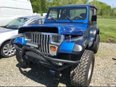1993 Jeep Wrangler for sale in Mount Pleasant, PA