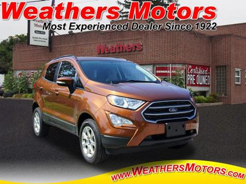 2019 Ford EcoSport for sale in Media, PA