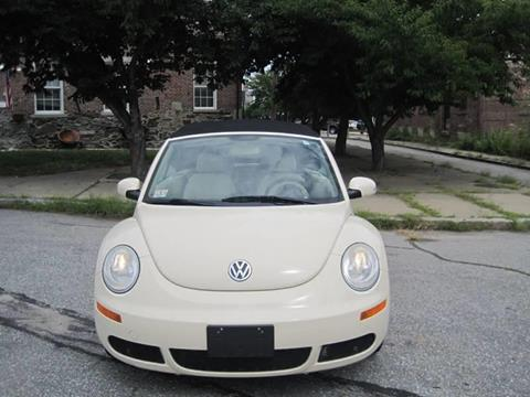 2007 Volkswagen New Beetle for sale at EBN Auto Sales in Lowell MA