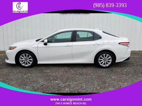 2018 Toyota Camry For Sale In Slidell La