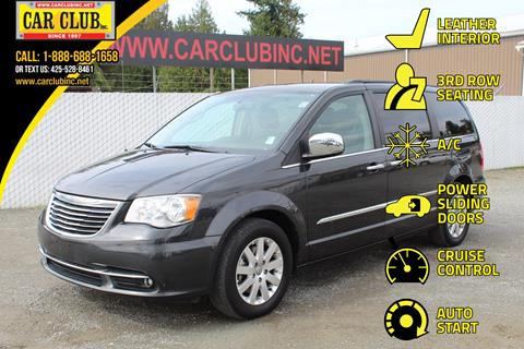 2012 Chrysler Town and Country for sale in Burien, WA