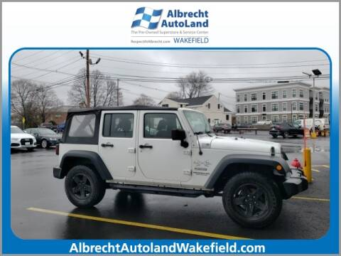 2012 Jeep Wrangler Unlimited for sale in Wakefield, MA