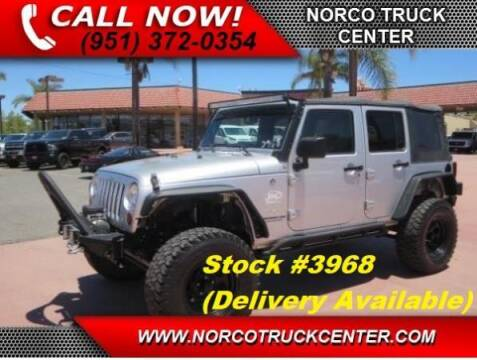 2008 Jeep Wrangler Unlimited for sale at Norco Truck Center in Norco CA