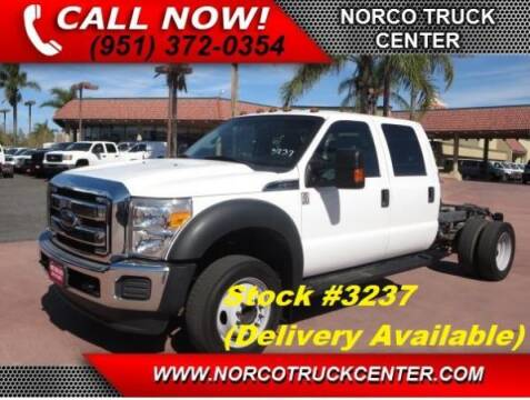 2012 Ford F-550 Super Duty for sale at Norco Truck Center in Norco CA