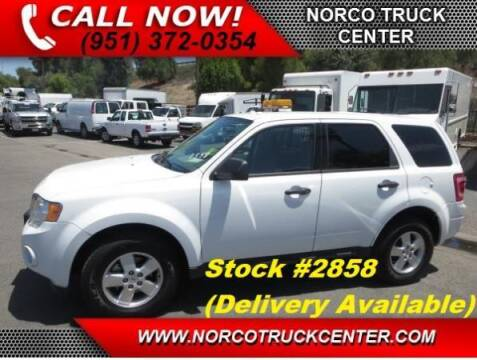 2010 Ford Escape for sale at Norco Truck Center in Norco CA