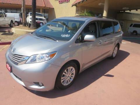 2017 Toyota Sienna for sale at Norco Truck Center in Norco CA