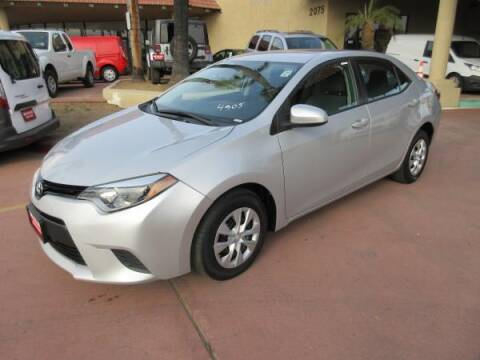 2016 Toyota Corolla for sale at Norco Truck Center in Norco CA