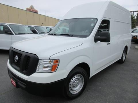 2015 Nissan NV Cargo for sale in Norco, CA
