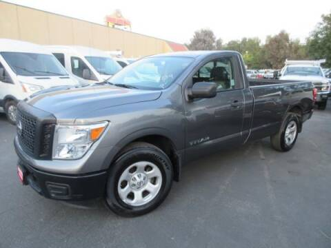 2017 Nissan Titan for sale at Norco Truck Center in Norco CA