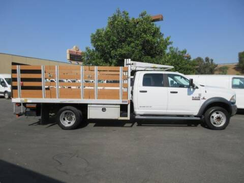 2016 RAM Ram Chassis 5500 for sale at Norco Truck Center in Norco CA