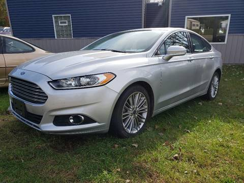 2015 Ford Fusion for sale in Wautoma, WI