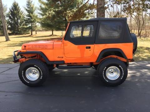 1987 Jeep Wrangler for sale in Lansing, MI