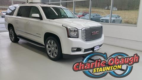 2016 GMC Yukon XL for sale in Staunton, VA