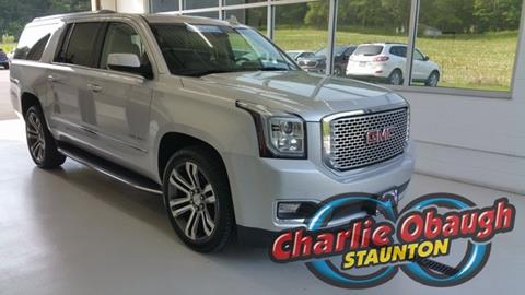 2017 GMC Yukon XL for sale in Staunton, VA