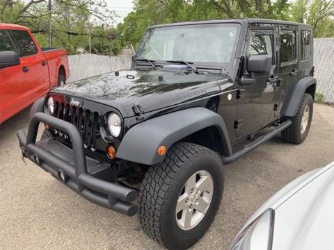 2010 Jeep Wrangler Unlimited for sale in Madison, WI