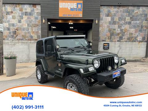 1998 Jeep Wrangler for sale in Omaha, NE