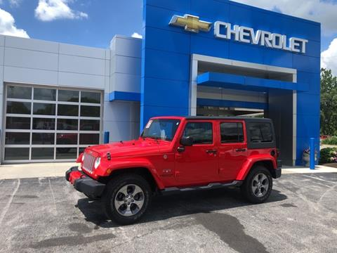 2017 Jeep Wrangler Unlimited for sale in North Manchester, IN