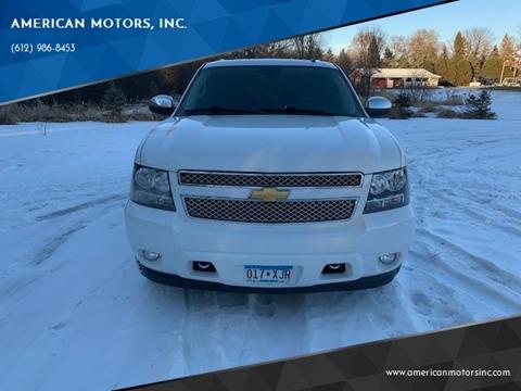 2013 Chevrolet Suburban for sale at American Motors, Inc. in Farmington MN