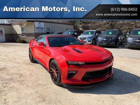 2017 Chevrolet Camaro for sale at American Motors, Inc. in Farmington MN