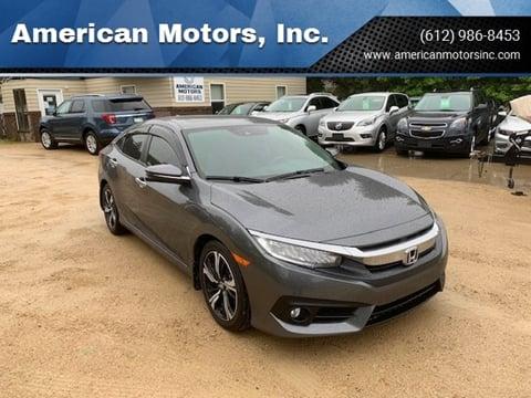 2017 Honda Civic for sale at American Motors, Inc. in Farmington MN