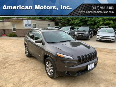 2018 Jeep Cherokee for sale at American Motors, Inc. in Farmington MN